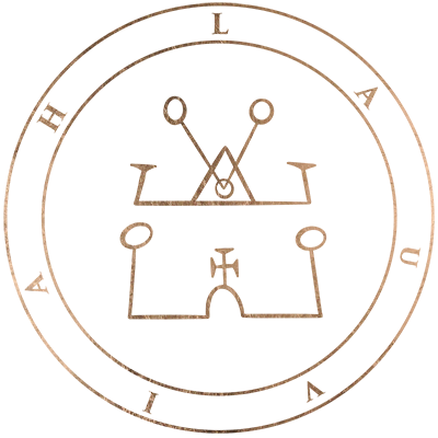 The sigil of angel Lauviah
