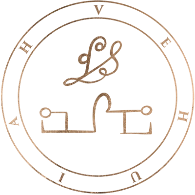 The sigil of angel Vehuiah